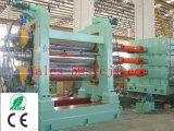 コード糸およびファブリックのコーティングのゴムのための3台のロールスロイスのゴム製カレンダ
