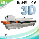 impressora Flatbed UV do grande formato de 2.5m com cabeças do Spt