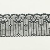 7cm strickten späteste Entwurfs-Spitze, die Geschlechts-Büstenhalter-Spitze und Geschenk-Wickelten Spitze, Feiertags-Dekoration-Spitze ein