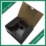 Schwarze Farbe gedruckter kundenspezifischer sendender Kasten-gewölbter Werbungs-Kasten