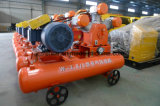 石切り場W-2.6/5DのためのKaishan 15kw 5barの電動機3シリンダー空気圧縮機