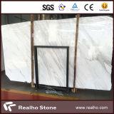 Lastra e mattonelle di marmo bianche di Volakas di prezzi competitivi