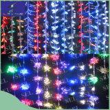 lumières de Noël de rideau en câblage cuivre de 10m 100lights DEL pour la célébration de festival