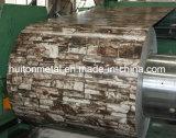 오래된 벽돌 패턴을%s 가진 인쇄된 PPGI 강철 코일