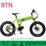 Bike горячего сбывания Btn миниый электрический тучный складывая с подвесом автошины 20inch