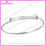 Bracelet fait sur commande de charmes de femmes de bijou de DIY en acier inoxydable
