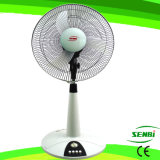 16 Zoll DC12V Tisch-Standplatz-Ventilator-Solarventilator-Schreibtisch-Ventilator-