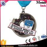 Medalhas do abridor de frasco do bujão do vinho da maratona da lembrança do clube do vinho do golfe