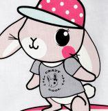 Baby-Karikatur-Strickjacke-T-Stücke mit langer Hülse im Kind-Kleidung-Kleid Sq-17105