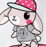 La niña de suéter tes de la historieta con manga larga en la ropa de los niños de prendas de vestir SQ-17105