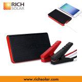 5V impermeabilizan el cargador portable del iPhone de la energía de la energía solar con la abrazadera de la batería