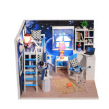 Миниая дом куклы игрушки мебели спальни