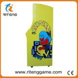 Machine van het Spel van de Arcade Pacman van de Opdringer van het muntstuk de Rechte met 60 Spelen