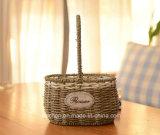 (BC-SF1005) 대중적인 Handmade 자연적인 밀짚 꽃 바구니