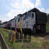 타이란드에 있는 Sino HOWO 371HP 탄광업 덤프 트럭 최신 판매