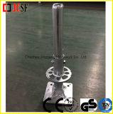 Gestell-Fußrollen-Adapter für Ringlock Baugerüst