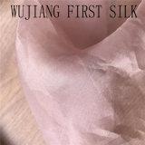 Tecido de cetim de organza de seda