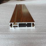 6063 ont expulsé profil de guichet en aluminium et de porte