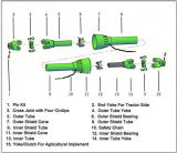 Eje agrícola de Pto con la rueda libre para la maquinaria de la agricultura