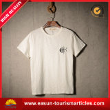 أبيض قطر [ت] قميص يوسع عنق رجال