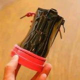 Новый Shining PU теплый Unsex ботинки с шнурует вверх (WX 7)