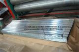 직류 전기를 통한 강철 물결 모양 금속 장 건축재료