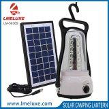 Comitato solare che carica l'indicatore luminoso di campeggio portatile di SMD LED