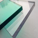 Folha contínua impermeável popular do policarbonato