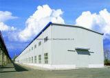 Edificio estructural de acero del palmo grande con la grúa para el almacén, taller industrial