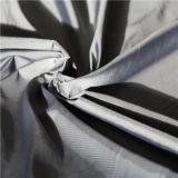 água de 50d 275t & do Sportswear tela 100% listrada tecida do poliéster do filamento do jacquard para baixo revestimento ao ar livre Vento-Resistente (53118)