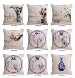 Coperchi lombari di tela del cuscino del cotone competitivo per la decorazione della base
