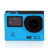 4k mette in mostra la macchina fotografica H8r di DV con 2 schermi 360 gradi