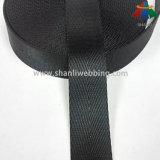 [25مّ] سوداء حسك رنك نيلون شريط منسوج