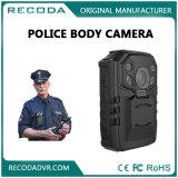 Téléchargement automatique mini DVR visuel de WiFi d'appareil-photo usé par corps en temps réel de police d'enregistrement