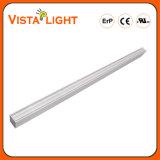 Luz linear do pendente do diodo emissor de luz do branco fresco 40W para escolas