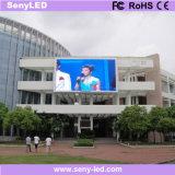 Im Freienled, die Anschlagtafel farbenreichen LED-Bildschirm bekanntmacht