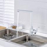Chrom-weißer Farbanstrich-Messingküche-Bassin-Mischer