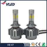 4000lm V8 LED Kit de conversion de phare pour voiture H1 H3 H4 H7 H8 H9 9005 9006