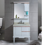 良質白いPVC浴室用キャビネット