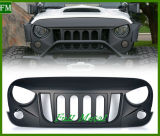 Transformer Front Matte Black Grille pour Jeep Wrangler Jk 2007-2017