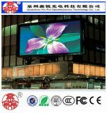 Tela de indicador video ao ar livre do diodo emissor de luz da alta qualidade P6 HD para a propaganda Rental