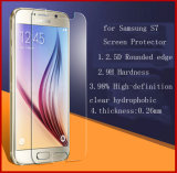 De aangemaakte Beschermer van het Scherm van het Glas voor Samsung S7