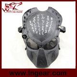 Ратника утюга Cosplay лицевого щитка гермошлема Airsoft воискаа маски полного тактические