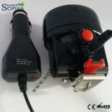 Lâmpada de tampão nova do diodo emissor de luz 3W pelo USB de DC12V que cobra o auto carregador