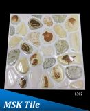 "12X12 ""5D Polished Crystal Pebbles Azulejos de pisos 1302"