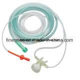 Cannula nasale dell'ossigeno medico con la riga di campionatura del CO2