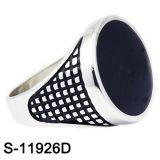 925 Sterlingsilber-Schmucksache-Silber-Ring-Männer