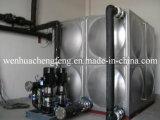 Dispositivo di per il rifornimento idrico non negativo di pressione con il serbatoio di acqua