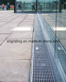 Rejilla Grating de la cubierta del dren/del suelo del garage/cubierta de la zanja