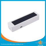 Солнечный складывая светильник стола, порученный мобильный телефон 2 PCS, с часами, температура, дата